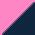Розовый+тёмно-синий