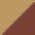 Светло-коричневый+тёмно-коричневый